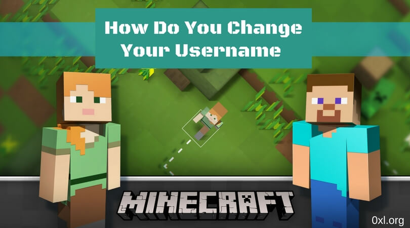 How do you change your username (1)